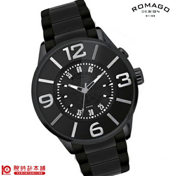 ロマゴデザイン NUMERATION ヌメレーション RM007-0053SS-BK ユニセックス