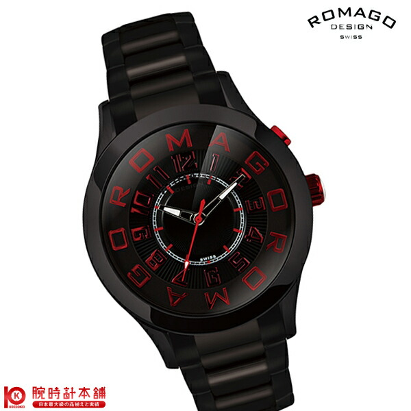 ロマゴデザイン ATTRACTION アトラクション RM015-0162SS-BKRD ユニセックス