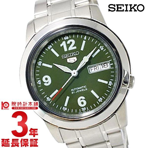 セイコー5 逆輸入モデル 機械式(自動巻き) SNKE59K1 メンズ