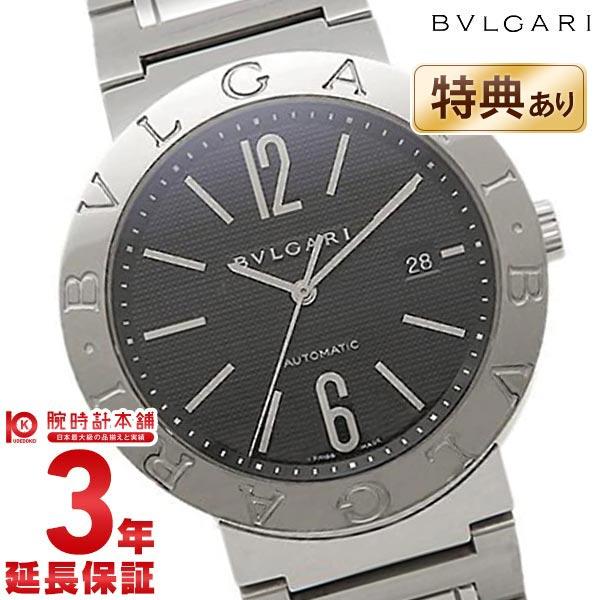 ブルガリ ブルガリブルガリ ブラック 自動巻 BB42BSSD AUTO メンズ
