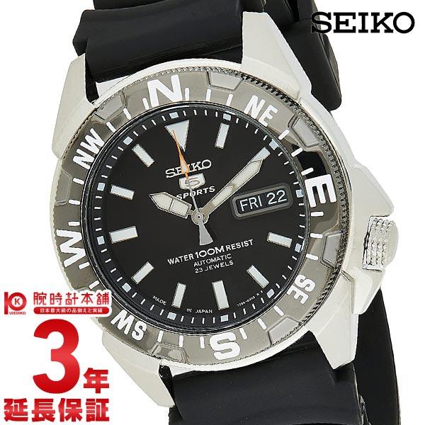 セイコー5 逆輸入モデル 5スポーツ 100m防水 機械式(自動巻き) SNZE81J2 メンズ