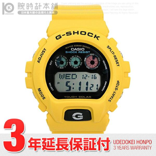 カシオ Gショック ソーラー G-6900A-9DR メンズ