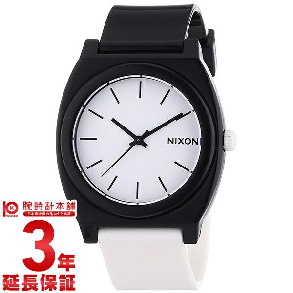 ニクソン タイムテラー ホワイト×ブラック A119-005 ユニセックス