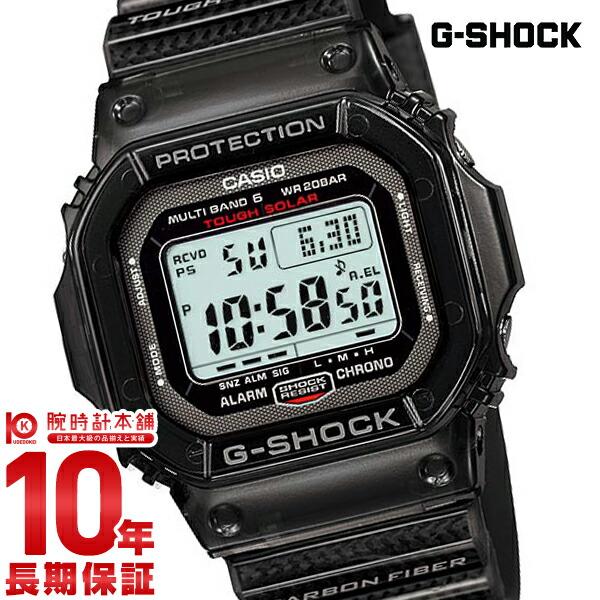 270401f355 カシオ Gショック RM Series タフソーラー 電波時計 MULTIBAND6 GW-S5600-1JF メンズ
