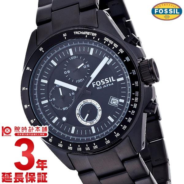 フォッシル ブラック CH2601 メンズ