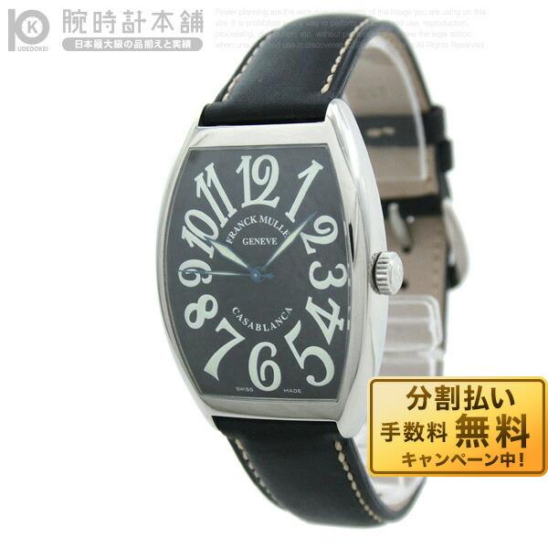 フランクミュラー  6850   CASA 黒/黒革 メンズ