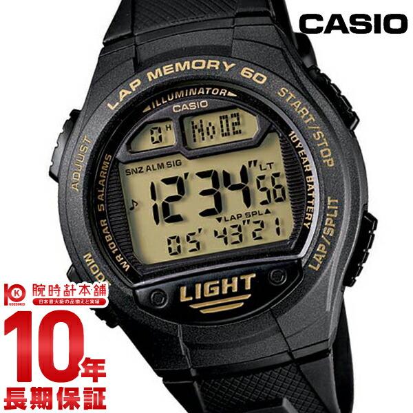 カシオ スポーツギア ランニング W-734J-9AJF メンズ