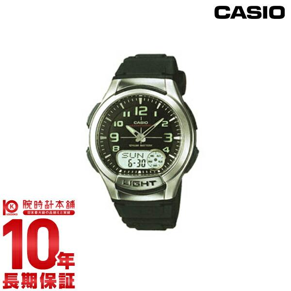 カシオ スタンダード AQ-180W-1BJF メンズ