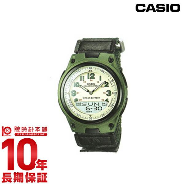 カシオ スタンダード AW-80V-3BJF メンズ