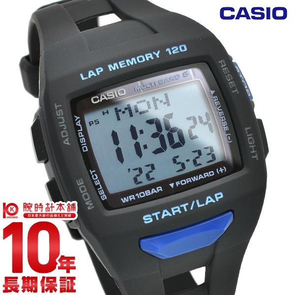 カシオ フィズ スポーツウォッチ ソーラー電波 STW-1000-1BJF メンズ