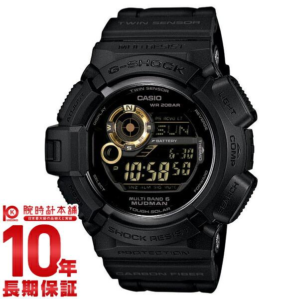 カシオ Gショック Black×Gold Series マッドマン 世界6局電波対応ソーラー電波 GW-9300GB-1JF メンズ