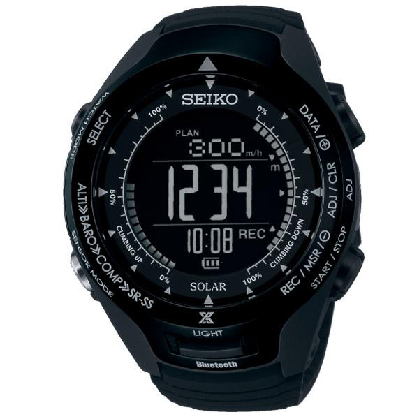 セイコー プロスペックス アルピニスト山の日記念限定モデルBluetooth通信機能付 ソーラー 100m防水 SBEL005 ユニセックス