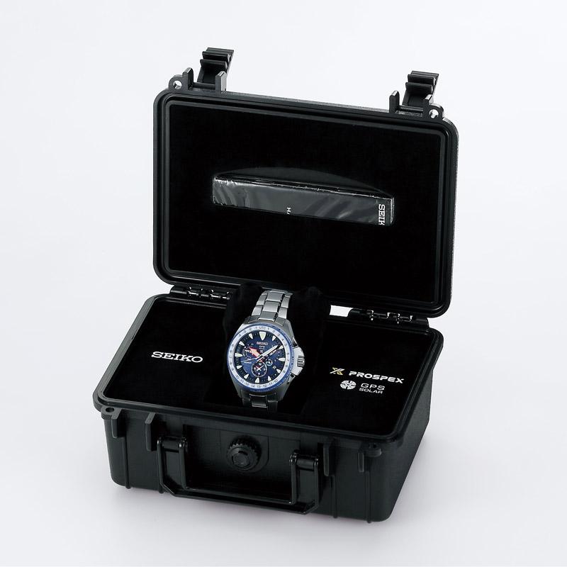 セイコー プロスペックス マリンマスターオーシャンクルーザー 白石康次郎モデル ソーラー電波 200m防水 SBED001 メンズ