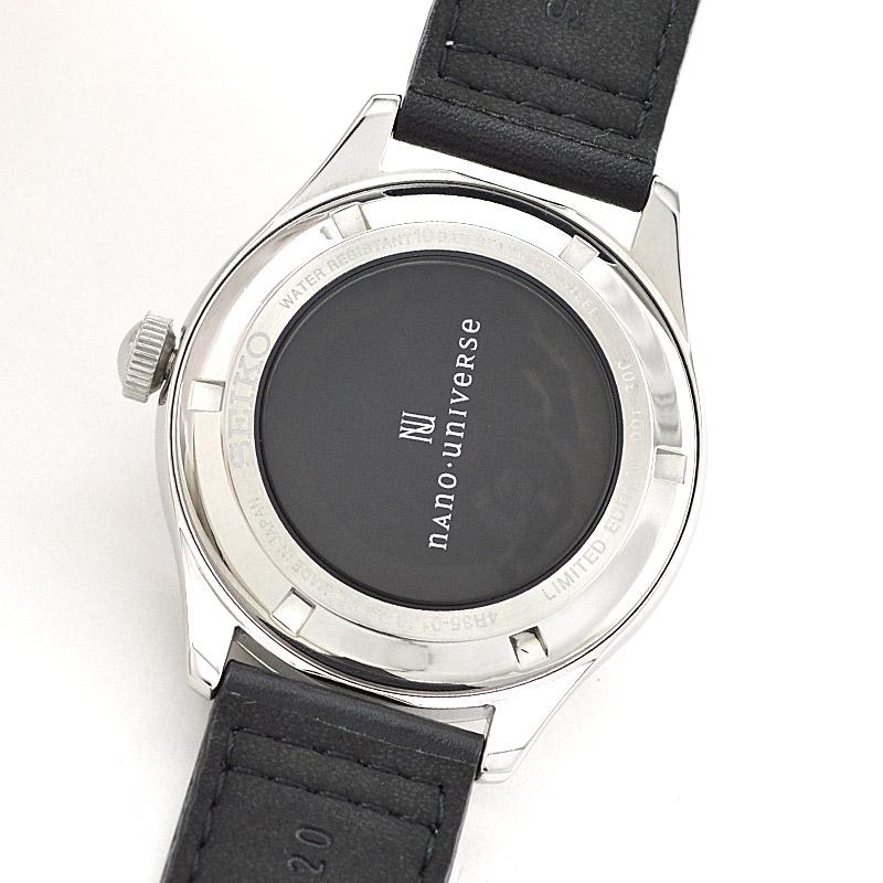 quality design f63f3 d1dab セイコーセレクション SEIKOSELECTION ナノユニバースコラボ 限定300本 100m防水 機械式(自動巻き/手巻き) SCVE045  メンズ 腕時計 時計