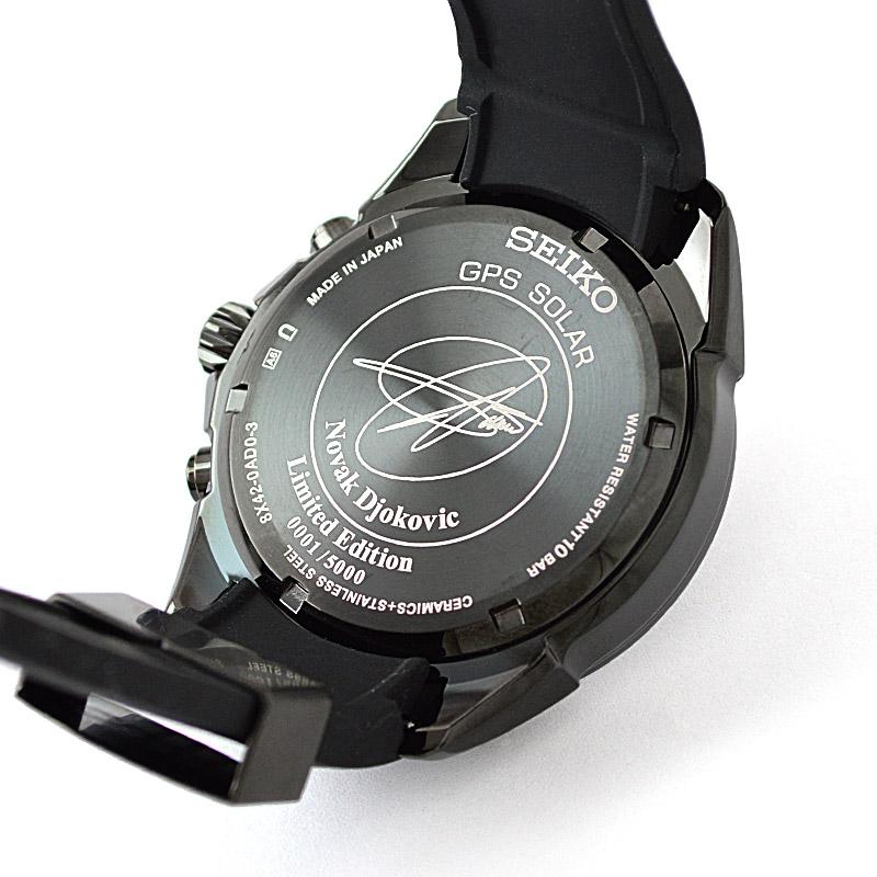 セイコー アストロン ノバク・ジョコビッチ限定モデル SBXB143 メンズ