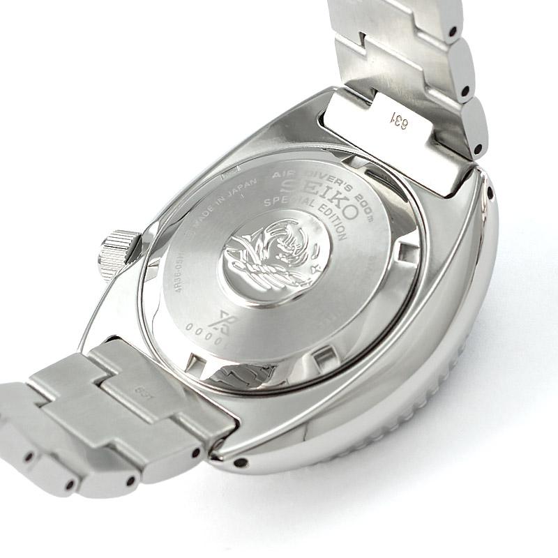 セイコー プロスペックス PADIコラボ タートル メカニカル 自動巻き ステンレス SBDY017 メンズ