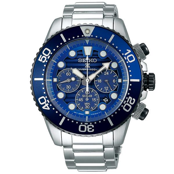 セイコー プロスペックス Save the Ocean Special Edition ソーラー ステンレス SBDL055 メンズ