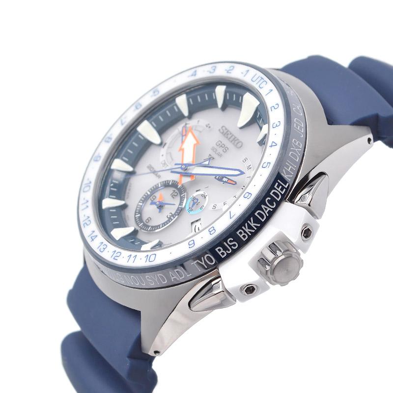 セイコー プロスペックス マリンマスターオーシャンクルーザー ソーラー電波 20気圧防水 SBED005 メンズ