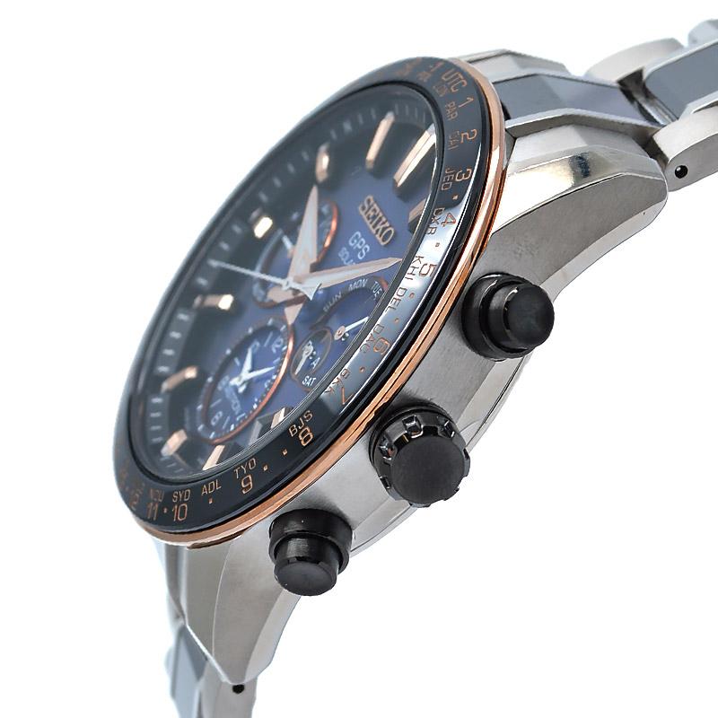 セイコー アストロン チタン ソーラー電波 電波ソーラー GPS衛星電波時計 SEIKO ASTRON 5Xシリーズ デュアルタイム SBXC007 メンズ