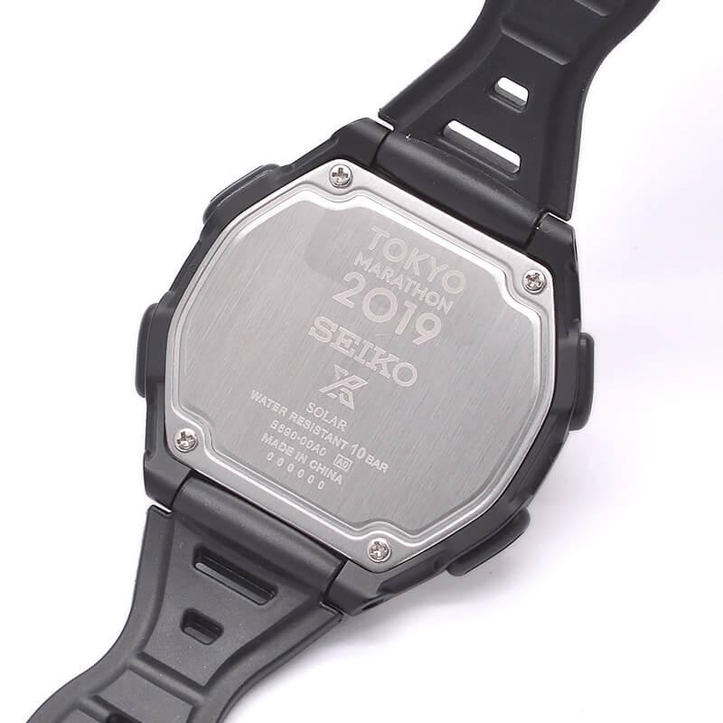 セイコー プロスペックス 専用BOX・ピンバッヂ付 ソーラー 10気圧防水 東京マラソン2019 記念限定 限定1000本 SBEF050 メンズ