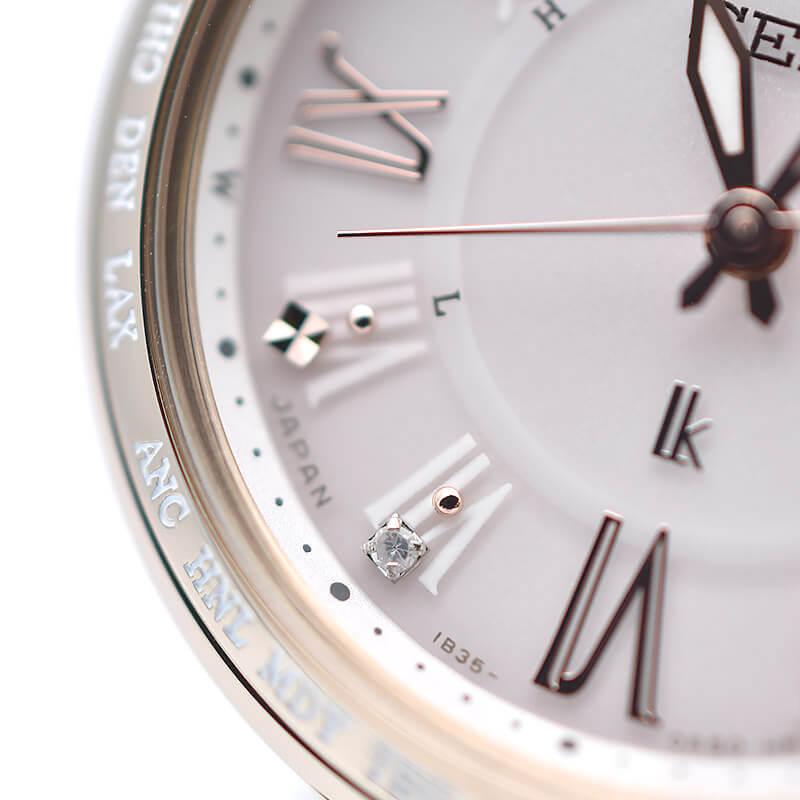セイコー ルキア SEIKO LUKIA SSQV058 電波ソーラー ソーラー電波 チタン レディダイヤ 腕時計 レディース 綾瀬はるか ゴールド[2019年 新作] SSQV058 レディース