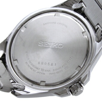 セイコー 逆輸入モデル クオーツ 100m防水 SGEE87P1 メンズ