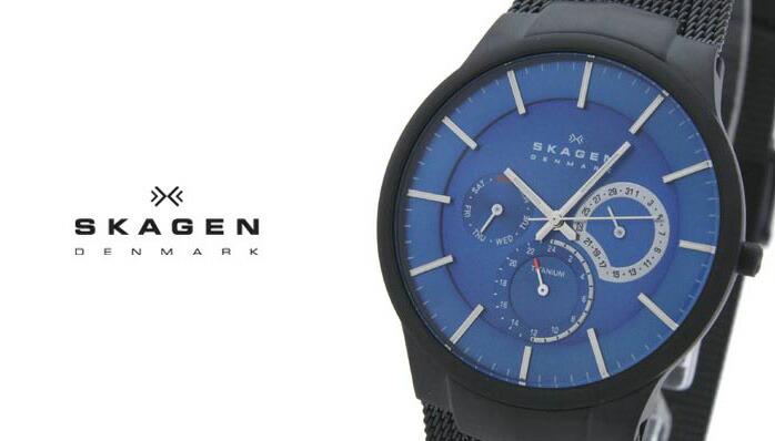 スカーゲン  809XLTBN メンズ