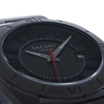 サクスニーイザック デザイナー「ヨージヤマモト」 ブラック/ブラック SY-15053B-BKU メンズ