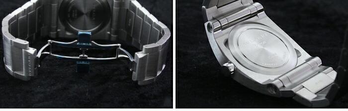 ブルガリ エルゴン オートマチック EG40BSSD メンズ