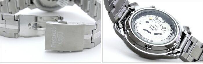 セイコー5 逆輸入モデル 機械式(自動巻き) SNKL83K1 メンズ