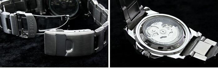 セイコー5 逆輸入モデル 5スポーツ 100m防水 機械式(自動巻き) SNZF51J1 メンズ