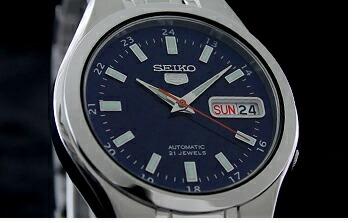 セイコー5 逆輸入モデル 機械式(自動巻き) SNKG21J1 メンズ