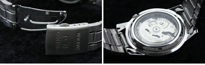 セイコー5 逆輸入モデル 機械式(自動巻き) SNKE51J1 メンズ