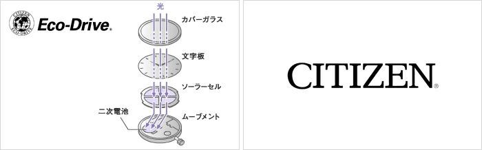 シチズン キー エコドライブ ソーラー EG2803-55A  レディース
