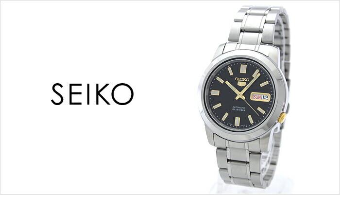 セイコー5 逆輸入モデル 機械式(自動巻き) SNKK17K1 メンズ