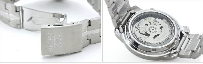 セイコー5 逆輸入モデル 機械式(自動巻き) SNKL91K1 メンズ
