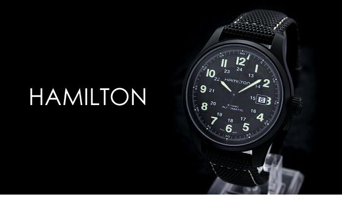 ハミルトン カーキ フィールド ミリタリー H70575733 メンズ