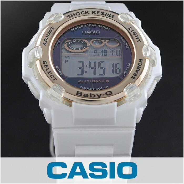 カシオ ベビーG トリッパー ソーラー電波 BGR-3003-7AJF レディース