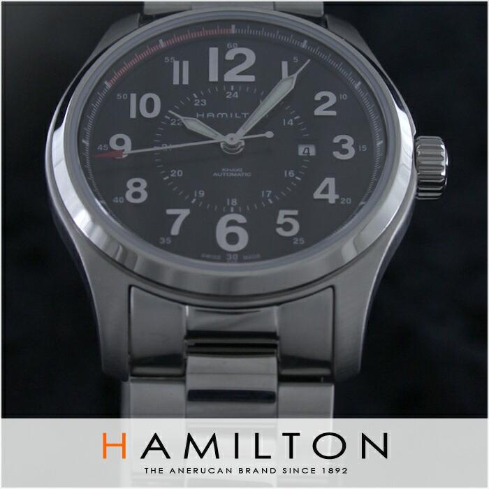 ハミルトン カーキ フィールド H70365133 レディース