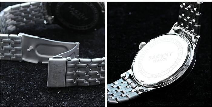 サクスニーイザック  SY-15073S-BR メンズ