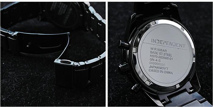 インディペンデント クロノグラフ ソーラー KL6-047-51 メンズ