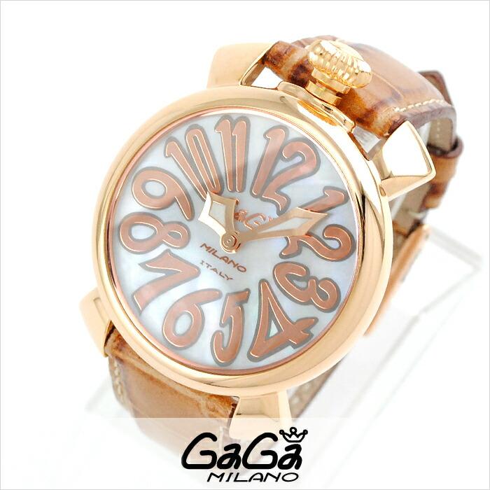 ガガミラノ Placcato Oro 5021.2 BR ユニセックス