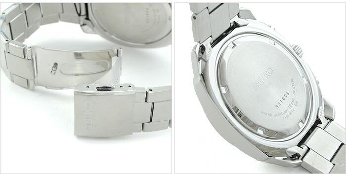 セイコー 逆輸入モデル クロノグラフ  100m防水 SNN209P1 メンズ