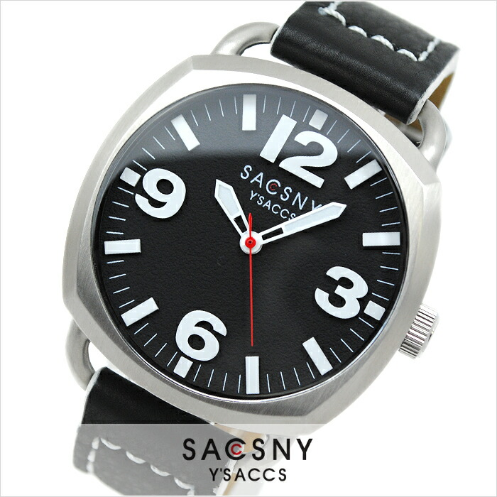 サクスニーイザック  SYA-15089S-BK メンズ