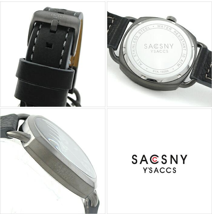 サクスニーイザック  SYA-15089U-BK メンズ