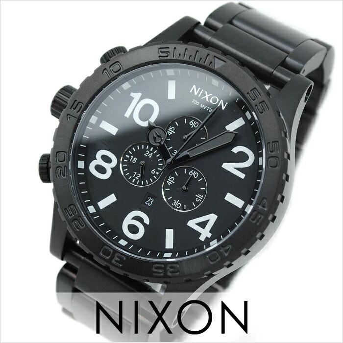 ニクソン THE51-30 クロノオールブラック A083-001 メンズ