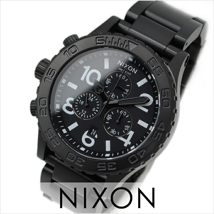 ニクソン THE42-20 クロノグラフ A037-001 ユニセックス