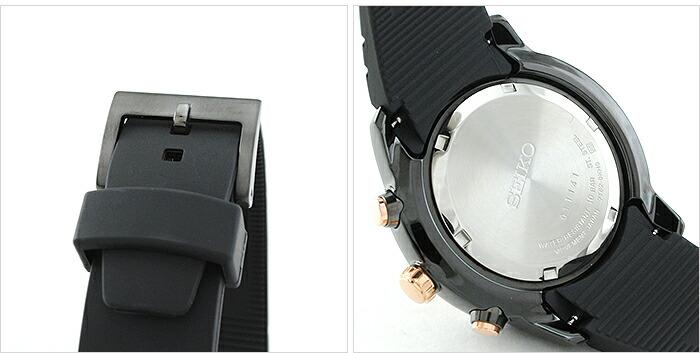 セイコー 逆輸入モデル クロノグラフ  100m防水 SNAD88P1 メンズ