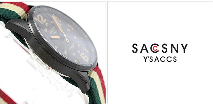 サクスニーイザック  SYA-15093B-BK メンズ