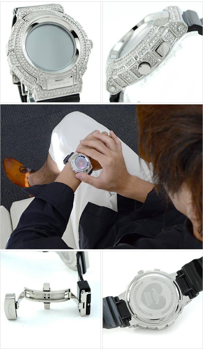 ロマゴデザイン  RM025-0269PL-SVBK ユニセックス